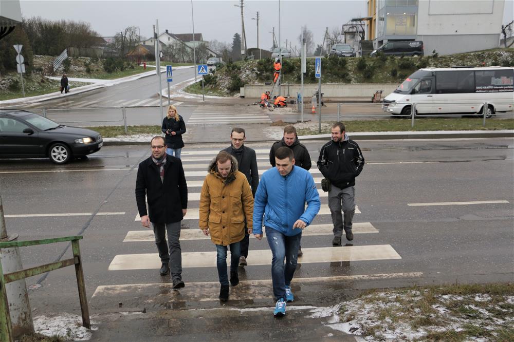 Pirmieji Lietuvoje: net tris saugumo elementus apjungianti perėja įrengta Alytuje