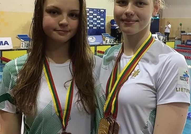 Lietuvos plaukimo čempionate alytiškiai iškovojo aukso, sidabro ir bronzos medalius