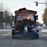 Praėjusią parą Alytaus gatvėse išbarstyta apie 120 tonų druskos ir žvyro mišinio 3