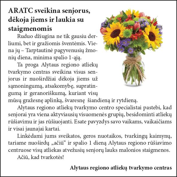 ARATC sveikina senjorus, dėkoja jiems ir laukia su staigmenomis 3