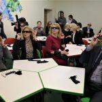 Šv. Benedikto gimnazijoje atidaryta 3D klasė 1
