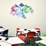 Šv. Benedikto gimnazijoje atidaryta 3D klasė 3
