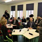 Šv. Benedikto gimnazijoje atidaryta 3D klasė 5