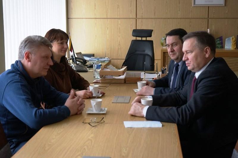 Pietų Lietuvos profesinės sąjunga aptarė bendradarbiavimą su Alytaus rajono vadovais