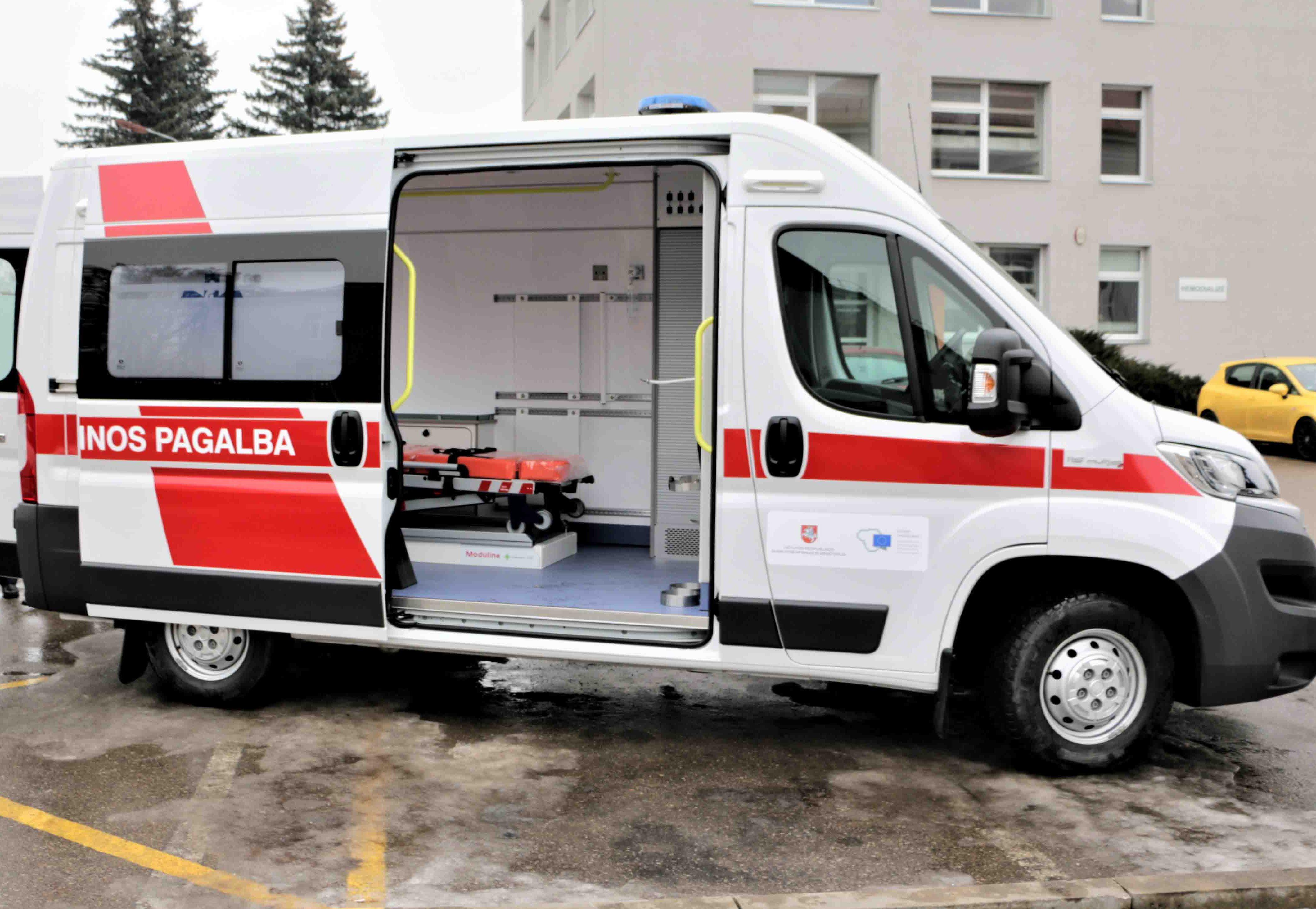 Pacientų pervežimui – naujas greitosios medicinos pagalbos automobilis 1