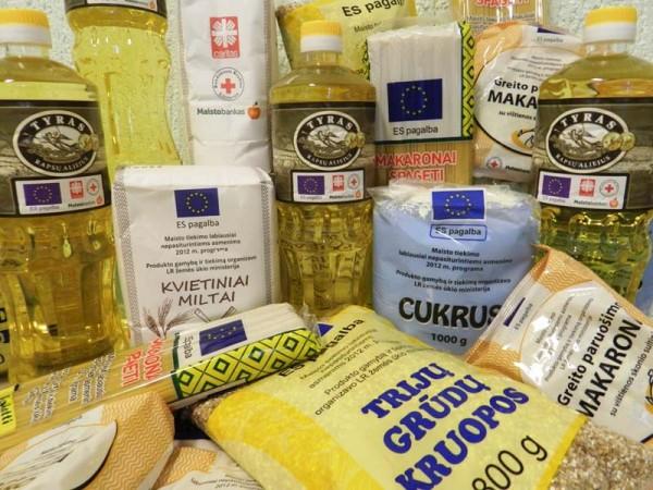 Parama maisto produktais gali būti skiriama ir didesnes pajamas gaunantiems gyventojams