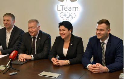 """Olimpinės dienos renginį vainikuos """"Lilo ir Innomine"""" koncertas"""