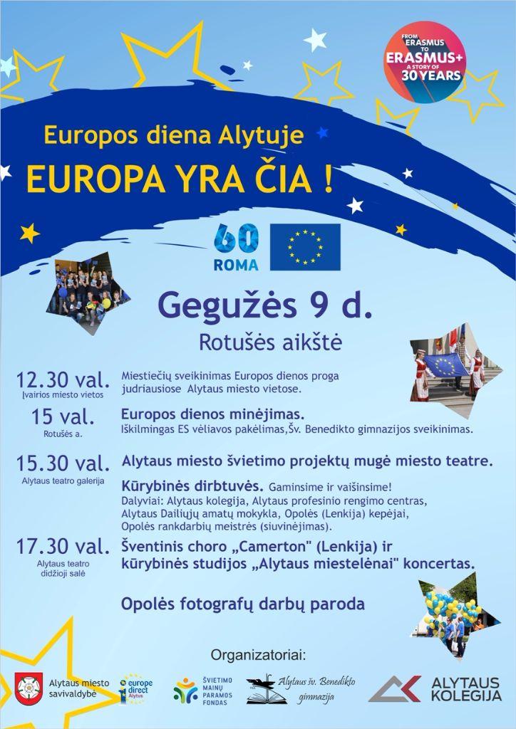 Europos dieną Alytuje kvepės pyragais 2