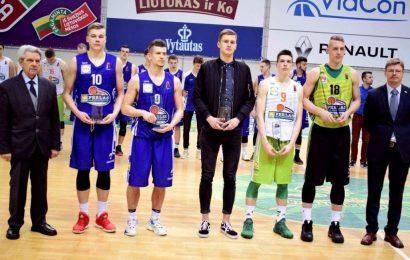 Alytiškiai vaikinai – treti moksleivių krepšinio lygoje