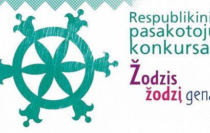 "Lietuvos pasakotojų konkursas ""Žodzis žodzį gena"""