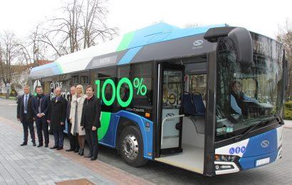Druskininkiečiai ir kurorto svečiai turės galimybę išbandyti naująjį elektra varomą autobusą