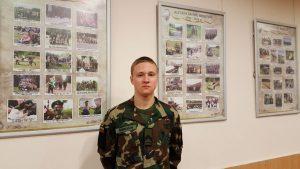 Jaunasis šaulys Naglis įsitikinęs, save realizuoti galės tik tarnaudamas šalies kariuomenėje 1