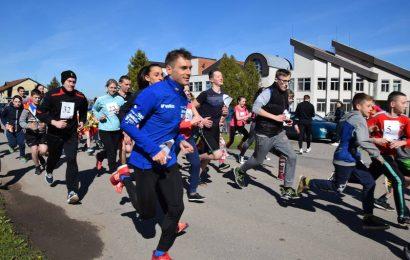 Krokialaukio Tomo Noraus-Naruševičiaus gimnazijoje surengtas tradicinis bėgimas 13