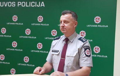 """Naujasis Alytaus policijos viršininkas: """"Mūsų tikslas, kad darantiems nusikaltimus po kojomis degtų žemė"""""""