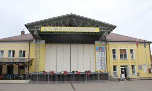 Druskininkų centre bus įrengtas lauko kino teatras 1