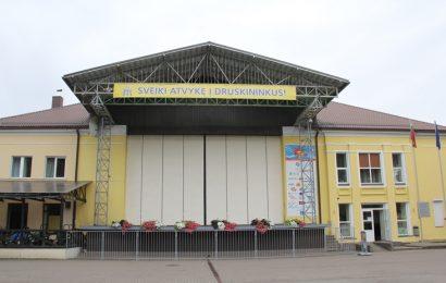 Druskininkų centre bus įrengtas lauko kino teatras