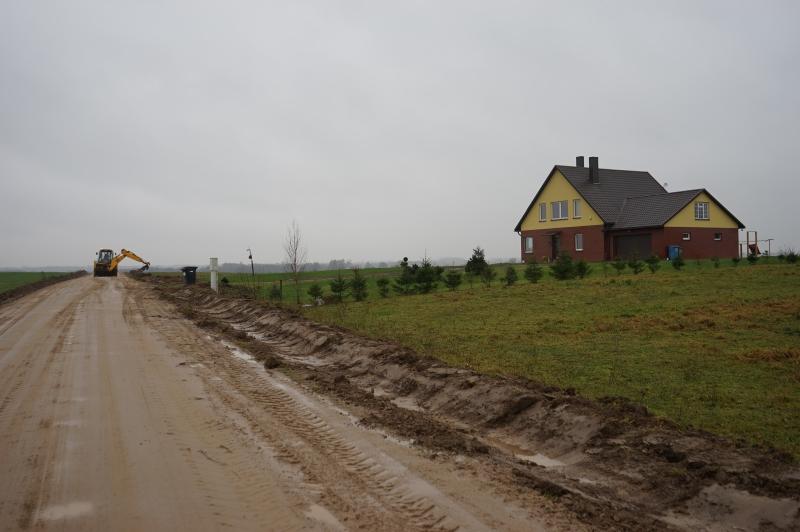 Alytaus rajone pradėti kaimo kelių atnaujinimo darbai