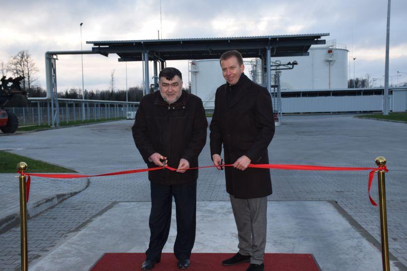 Lazdijų rajone atidarytas naftos produktų perpylimo terminalas