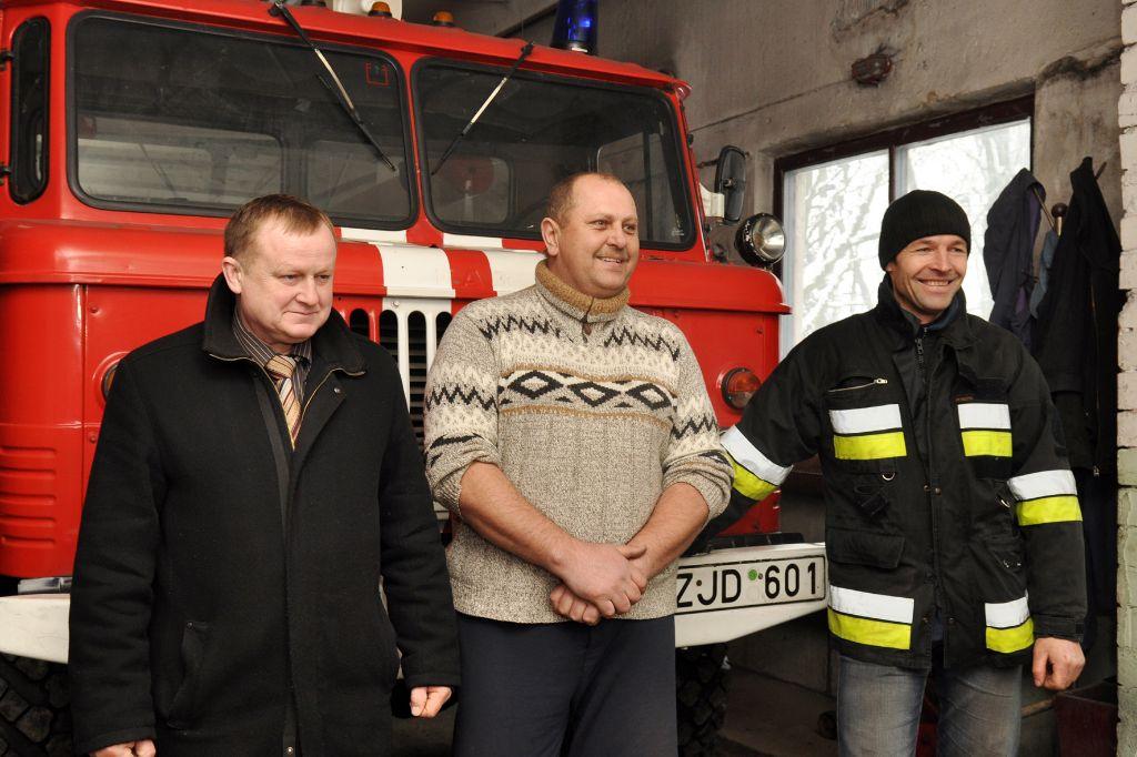 Gyventojams ramiau, kai šalia gyvena savanoriai ugniagesiai