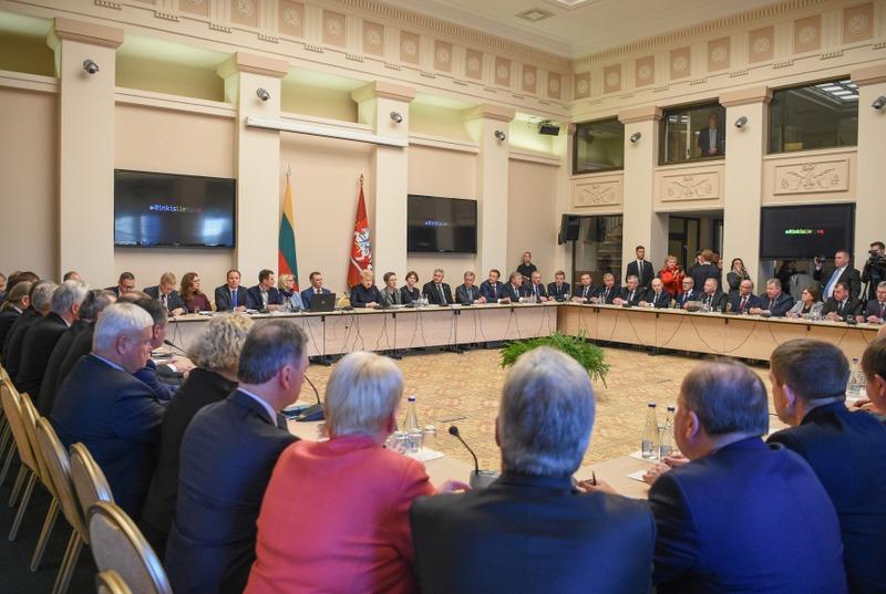Prezidentės susitikime su merais – dėmesys emigrantų susigrąžinimui