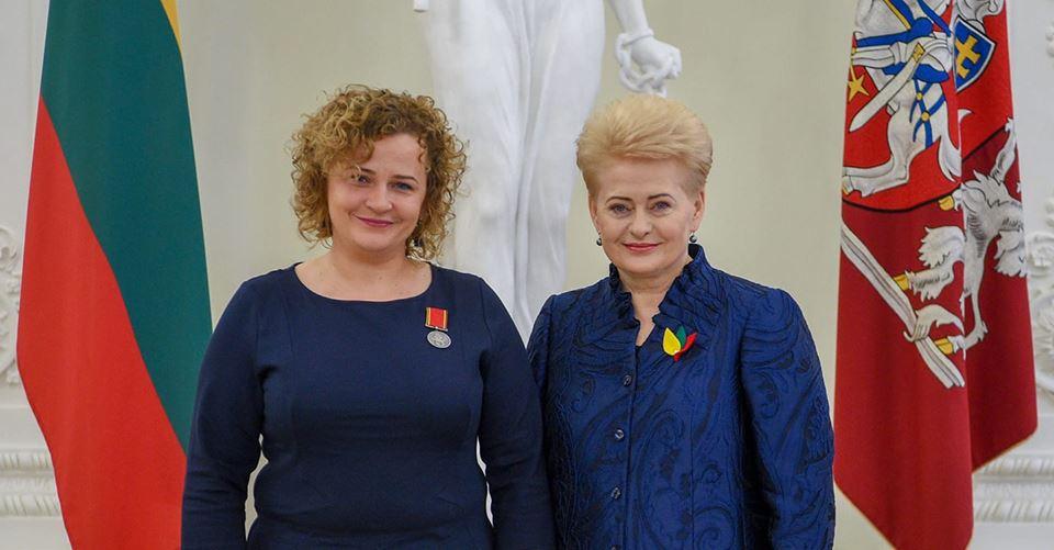 Prezidentės medaliu apdovanota Dalia KItavičienė: darbai nuveikiami tik komandoje