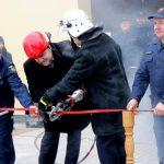 Lazdijų rajono savivaldybėje – dar viena nauja gaisrinė 2