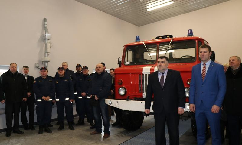 Lazdijų rajono savivaldybėje – dar viena nauja gaisrinė