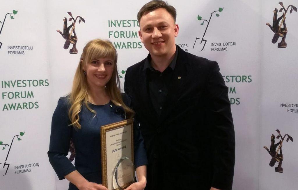 Geriausia Lietuvos ekonomikos mokytoja dirba Alytaus mieste