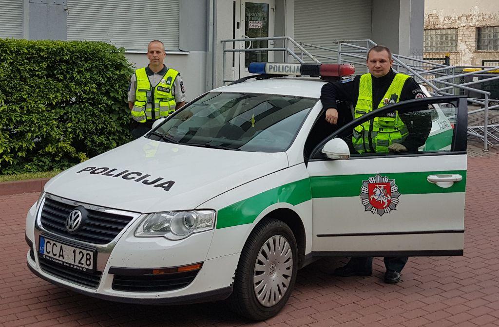 """Druskininkų policijos pareigūnų pagalbos sulaukęs vilnietis: """"Tikiu angelais sargais"""""""