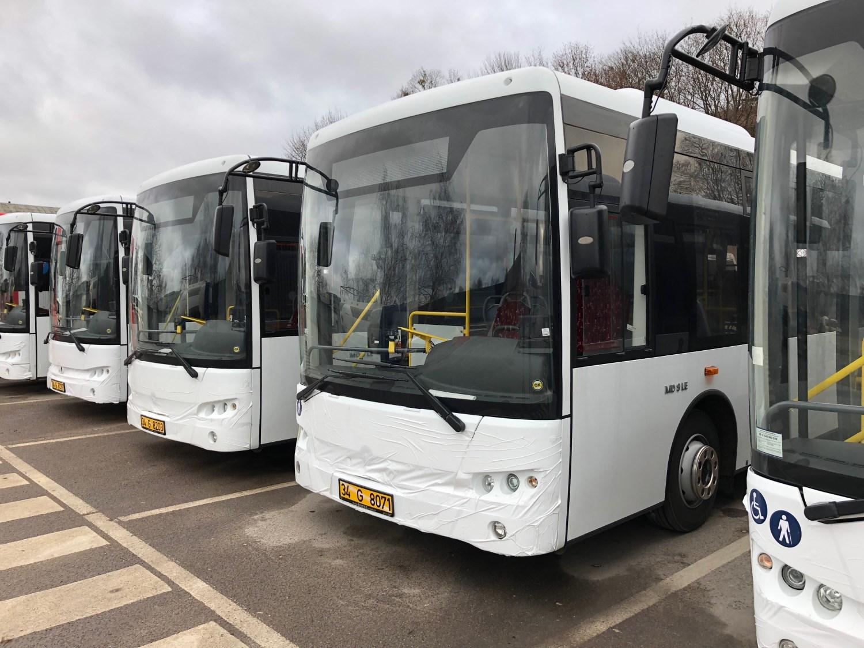 Žemagrindžių autobusų penketukas ruošiasi išriedėti į Alytaus gatves