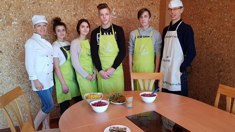 Alytiškiai sveiko maisto idėjomis dalijosi Varėnoje