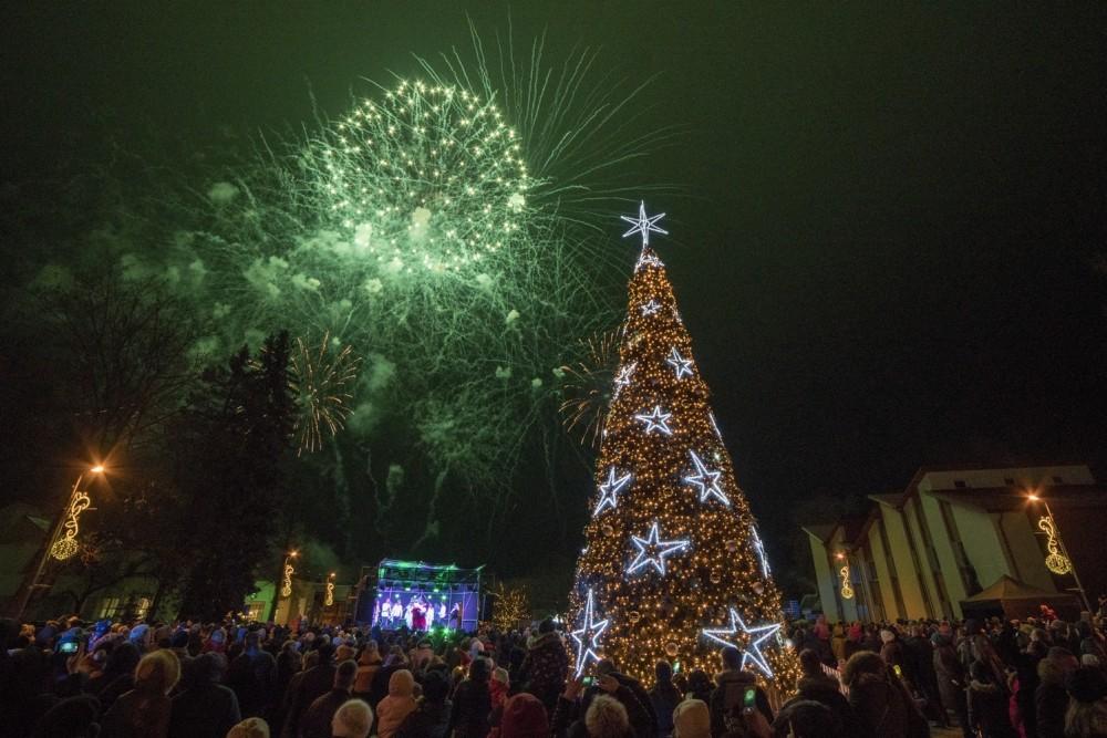 Kalėdos Birštone: gausybė renginių ir norus pildantis stebuklingas skveras
