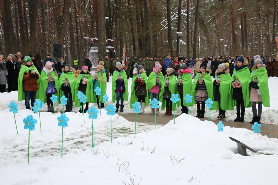 Alytiškiai pagerbė žuvusių už Lietuvos laisvę atminimą 1