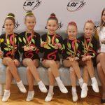 Aerobinės gimnastikos varžybose Alytuje – sportininkių ir medalių gausa 9