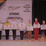 Aerobinės gimnastikos varžybose Alytuje – sportininkių ir medalių gausa 4