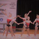 Aerobinės gimnastikos varžybose Alytuje – sportininkių ir medalių gausa 1
