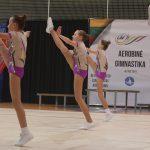 Aerobinės gimnastikos varžybose Alytuje – sportininkių ir medalių gausa 7