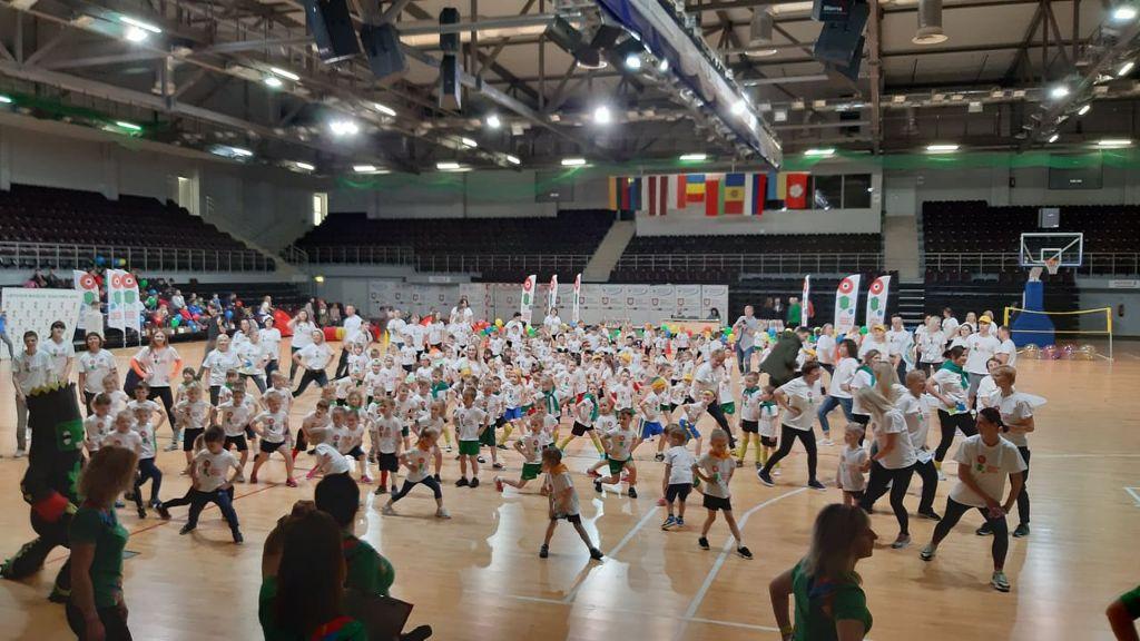 Alytuje vykusiose Lietuvos mažųjų žaidynėse varžėsi šimtai darželinukų