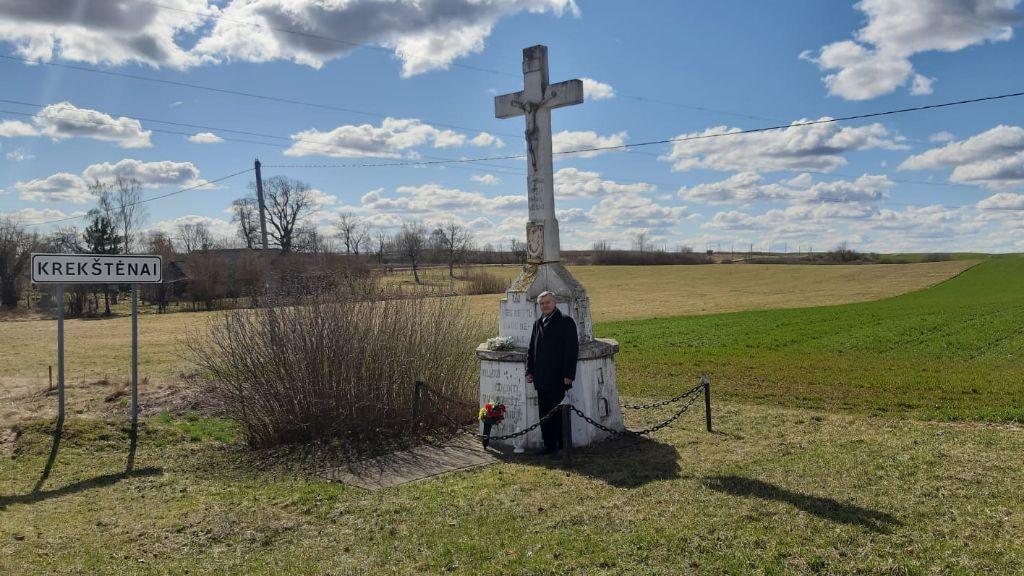Lietuvos istorijai reikšmingas kryžius liks išsaugotas tik atsiminimuose?