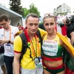 """Alytuje stipriausios Europos ėjikės vardą pelniusi Živilė Vaiciukevičiūtė: """"Sunku tuo patikėti"""" 2"""