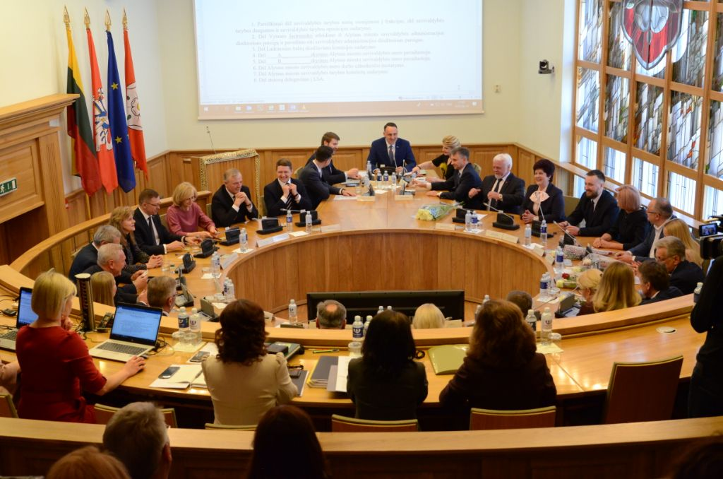 Šaukiamas Alytaus miesto tarybos posėdis