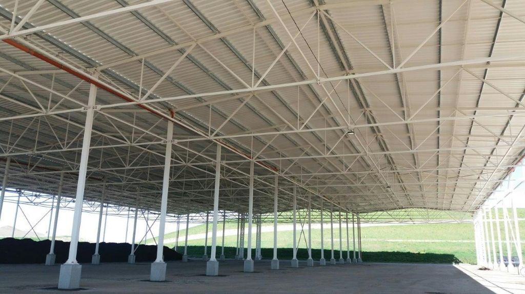 Didžiausia regiono kompostavimo aikštelė – jau saugioje stoginėje 1