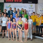 Varėnos baseiną drebino įspūdingos šeimų plaukimo varžybos 1