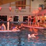 Varėnos baseiną drebino įspūdingos šeimų plaukimo varžybos 8