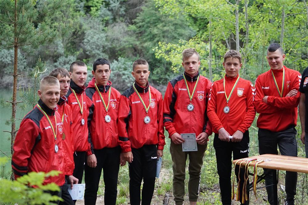 Alytaus kanupolininkams – Lietuvos čempionatų auksas ir sidabras