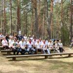 Policijos rėmėjų sąskrydyje Marcinkonyse - išbandymų ir linksmybių gausa 1