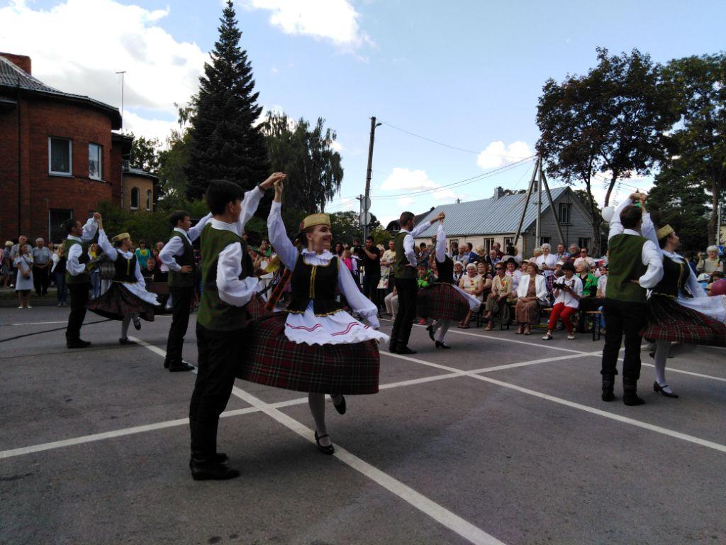 Jubiliejine Baltijos kelio dvasia prisipildė ir Alytus 1