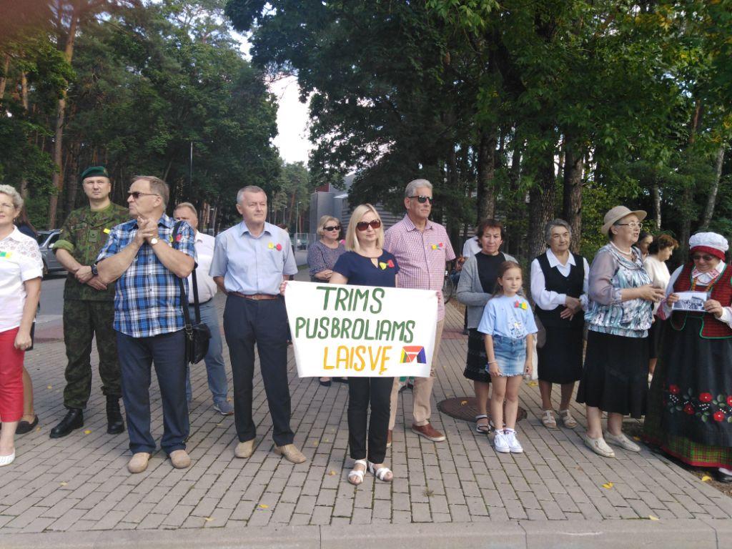 Jubiliejine Baltijos kelio dvasia prisipildė ir Alytus 3