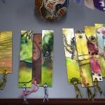 Alytiškės paveiksluose – tūkstančių taškų ir brūkšnelių žaismas 1