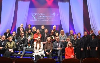 Trys Dalios Tamulevičiūtės teatrų festivalio apdovanojimai – Alytaus miesto teatrui